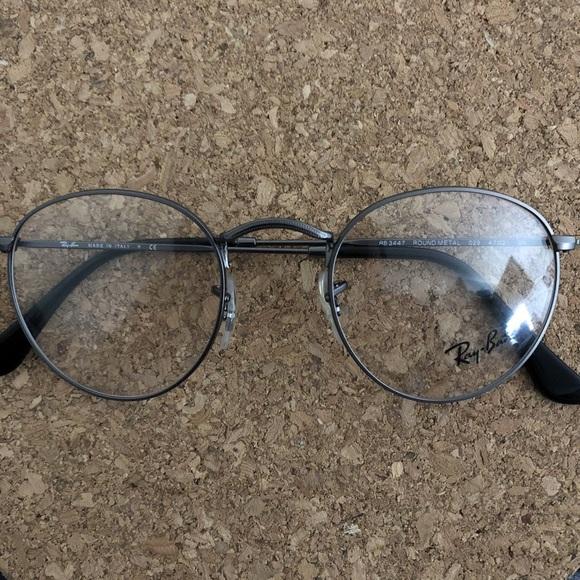 0343154952b8a ... round glasses 47mm in gunmetal. Ray-Ban. M 5b89c9318ad2f991cfbb61af.  M 5b89c932194dadc3bb1bbe7a. M 5b89c934bb761519b68d623c.  M 5b89c935aaa5b8d96b7b1c7a